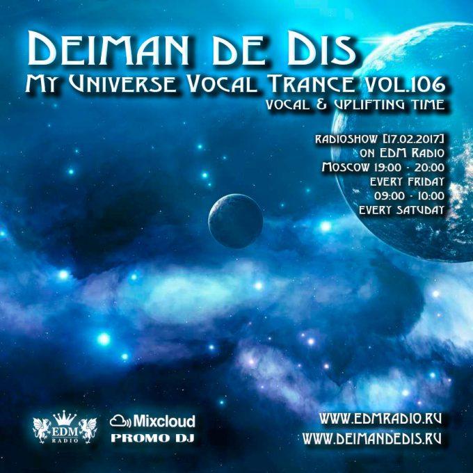 My Universe Vocal Trance vol.106