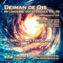 My Universe Vocal Trance vol.78 (Special Mix for Sophia)